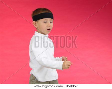 Punching Boy 4