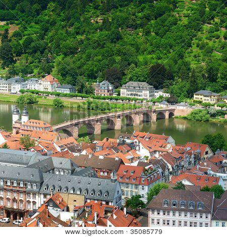 City of Heidelberg. Germany