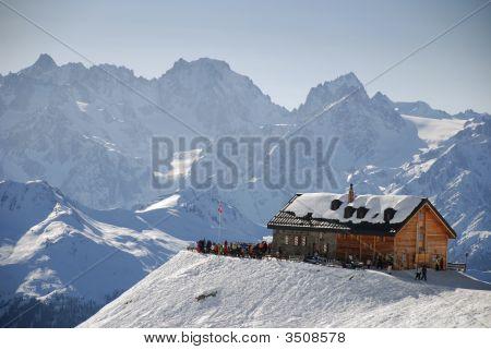 Cabane Du Mt Fort, Verbier, Valais, Switzerland