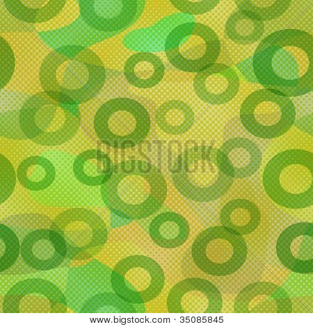 Abstract green pattern, seamless