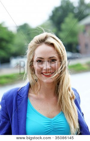 Beautiful Vivacious Young Blonde