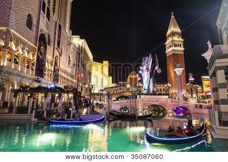 Gondolas At The Venetian Resort Hotel & Casino