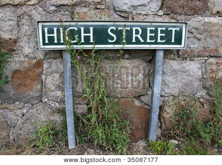 Highstreet Sign