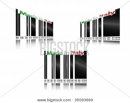 barcode made in italy