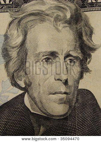 Jackson, 20 Dollar bill