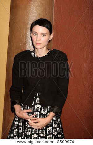 "LOS ANGELES - SEP 6:  Rooney Mara arriving at the ""Tanner Hall"" Screening at the Vista Theater on September 6, 2011 in Los Angeles, CA"