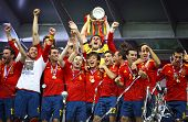 Spain - the winner of UEFA EURO 2012
