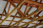 picture of hurricane clips  - construction trusses - JPG