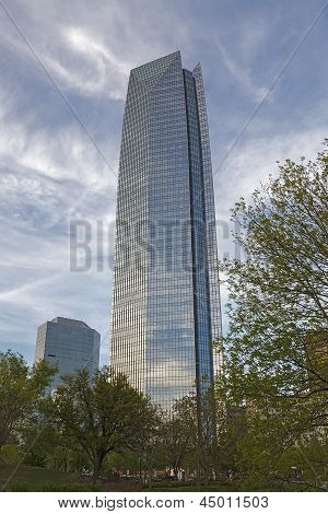 The Devon Tower in downtown Oklahoma City, Oklahoma