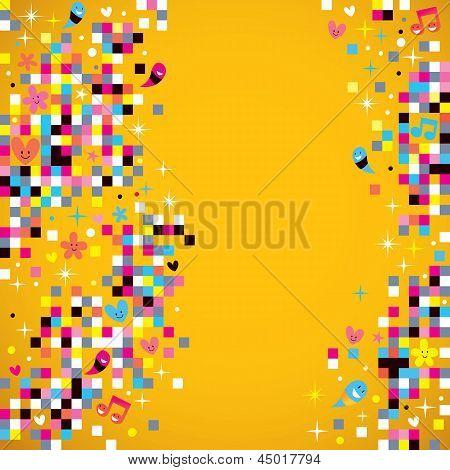 fun pixel background