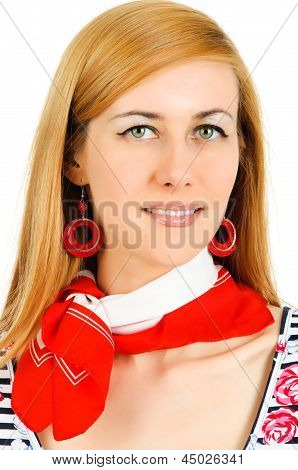 Young Girl With Neckerchiefs