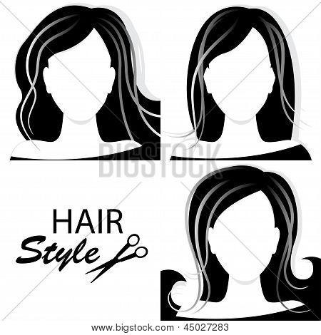 Design elements for barber shop .