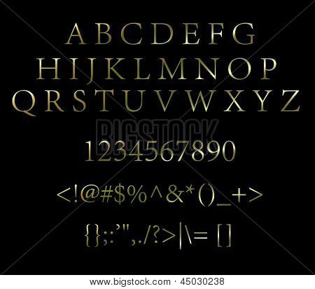 letters with numbers and symbols