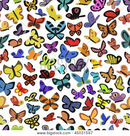 texture of butterflies