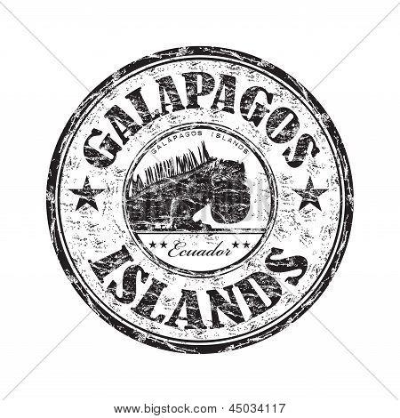 Galapagos eilanden Rubberstempel