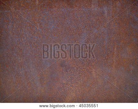 heavy metal rusty  old steel plate background