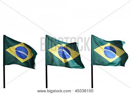 Photo of Brazilian flags