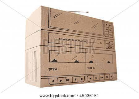 Photo of Stereo cardboard