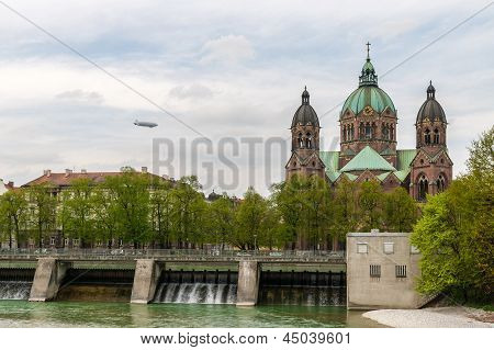 St. Lukas Church In Munich - Bavaria, Germany
