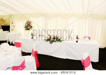 Wedding Reception Interior