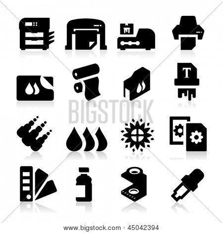 Ícones de impressão