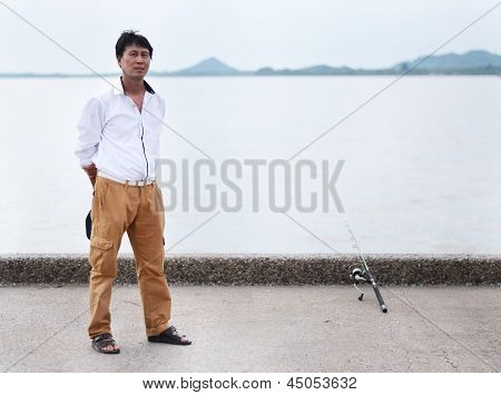 Fisherman Fishing
