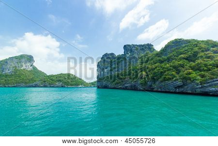 Island At Ang Thong National Park ,thailand