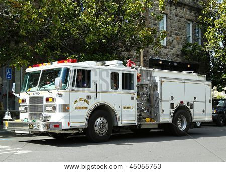 City of St. Helena fire truck