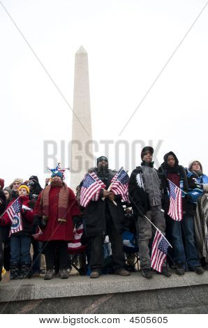 Inaugural Celebration At Washington Monument