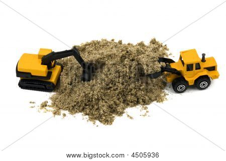 Wheel Loader And Hydraulic Excavator
