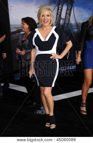 "LOS ANGELES - APR 10:  Jennifer Aspen arrives to the ""Oblivion"" US Premiere  on April 10, 2013 in Hollywood, CA."