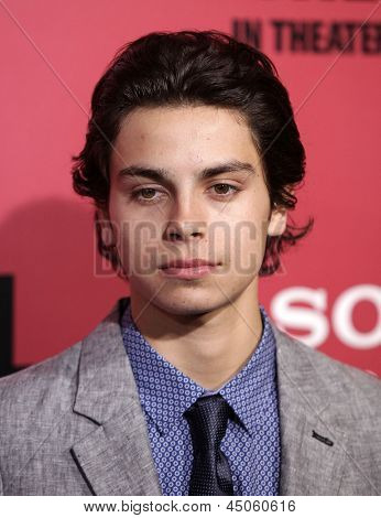 "LOS ANGELES - MAR 05:  Jake T. Austin arrives to the ""The Call"" Los Angeles Premiere  on March 05, 2013 in Hollywood, CA."