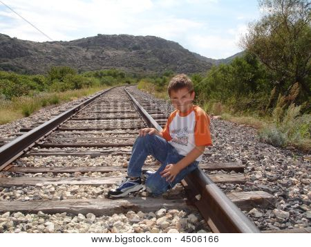 Boy On The Tracks