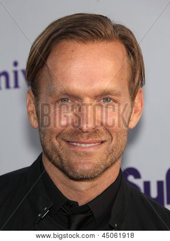 LOS ANGELES - AUG 11:  BOB HARPER arriving to Summer TCA Party 2011 - NBC  on August 11, 2011 in Beverly Hills, CA