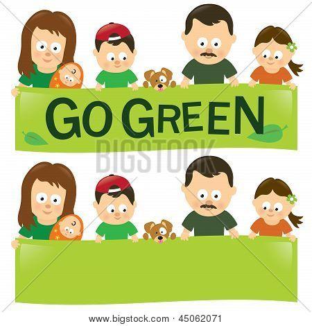 Go green family