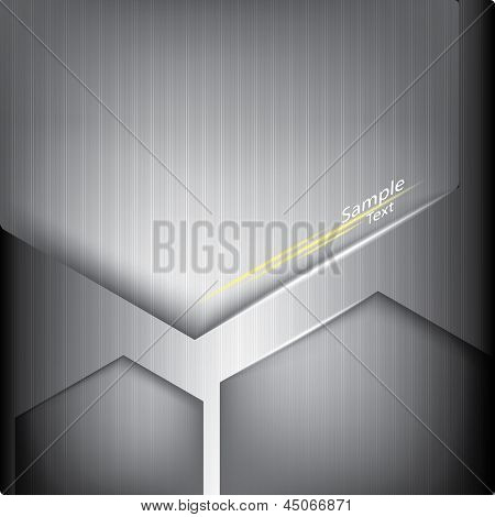 Abstract Metallic Background, Polygon