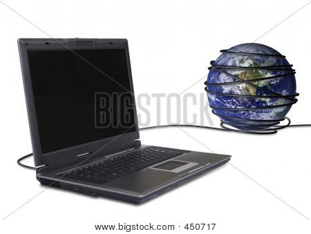 Communications Worlwide laptop