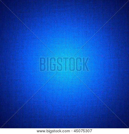 Blue Abstract Linen Background