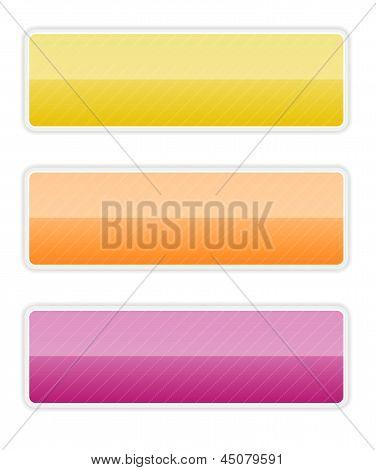 vibrant rectangle button