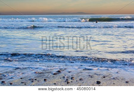 Ocean Beach Near Bolinas, Central California