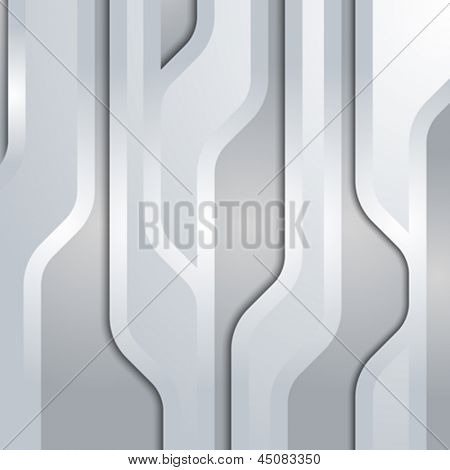 Technology abstract background. Connection lines pattern. Hi-tech style. Vector.