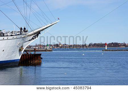 Stralsund harbor