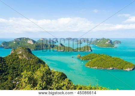 Marine Park: Angthong Marine National Park Viewpoint