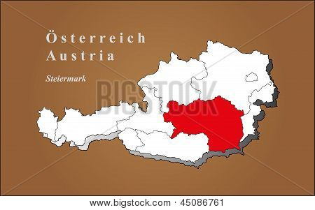 Austria Styria Highlighted