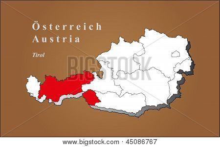 Áustria Tyrol destacada