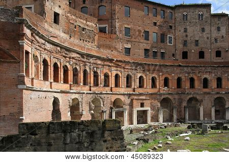 Trajan's Forum (latin: Forum Traiani)