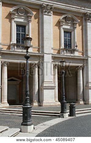 The Piazza Del Campidoglio