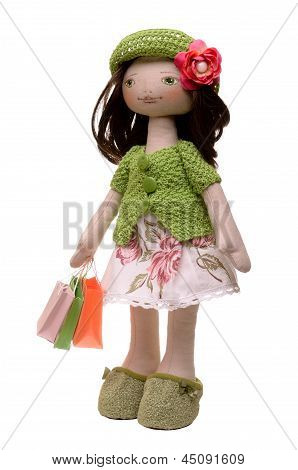 Soft Toy Doll Shopaholic