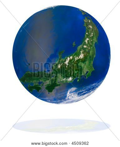 Japan On The Earth Planet
