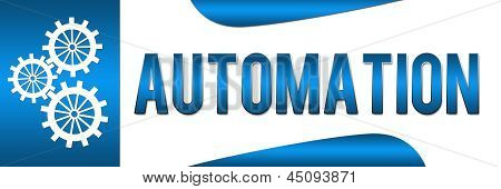 Automation Blue Banner